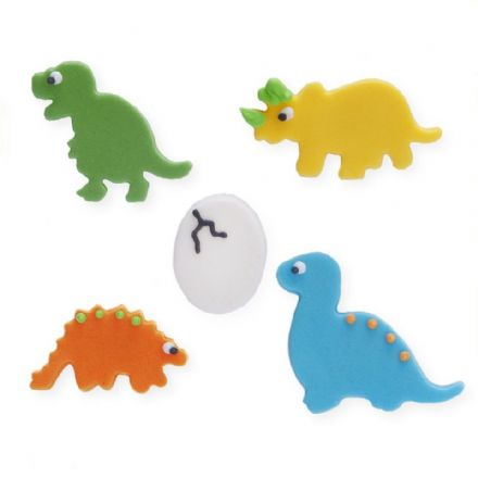 Dinosaur Sugar Decorations